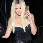 Khloe Kardashian chwali się wąską talią!