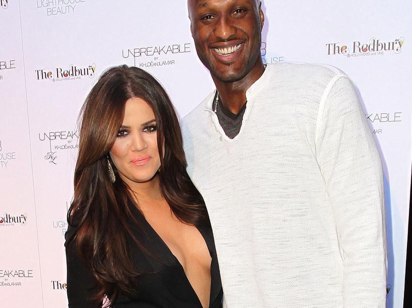 Khloe Kardashian i Lamar Odom /Frederick M Brown /Getty Images