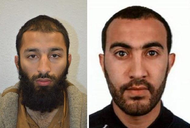 Khuram Butt i Rachid Redouane //LONDON METROPLITAN POLICE /PAP/EPA
