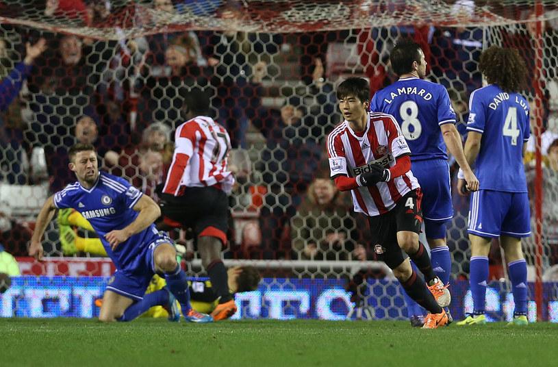 Ki Sung-Yueng zdobył bramkę na wagę awansu Sunderlandu /AFP