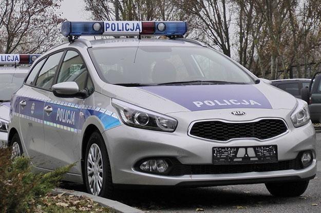 Kia Cee'd w wersji oznakowanej /Policja