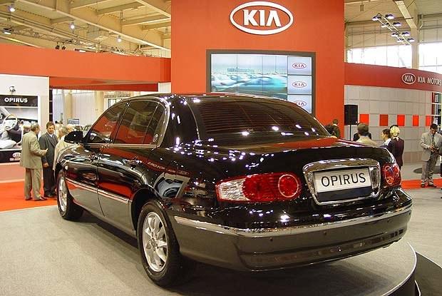 Kia Opirus w Poznaniu (kliknij) /INTERIA.PL