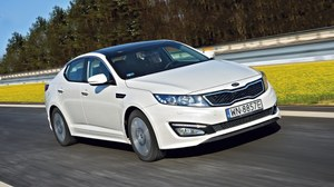 Kia Optima 2.0 DOHC Hybrid XL - test