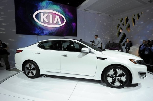 Kia optima hybrid /AFP