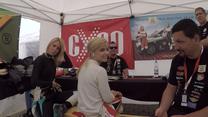 Kia Platinum Cup 2018: Kubica w spódnicy za kierownicą Picanto