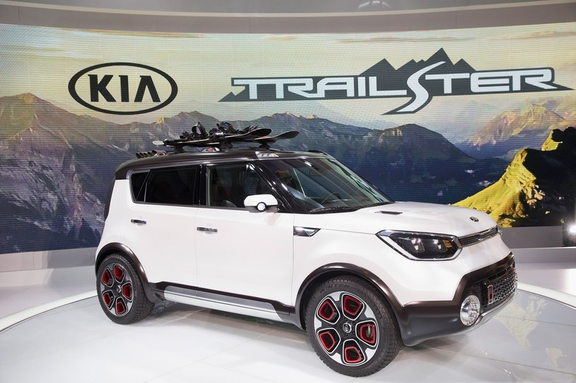 Kia Trailster concept /AFP