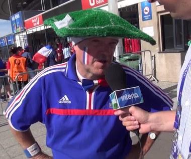 Kibic Francji przed finałem Euro 2016. Wideo