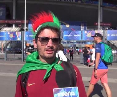 Kibic Portugalii przed finałem Euro 2016. Wideo