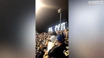 Kibic skradł show na meczu bejsbola
