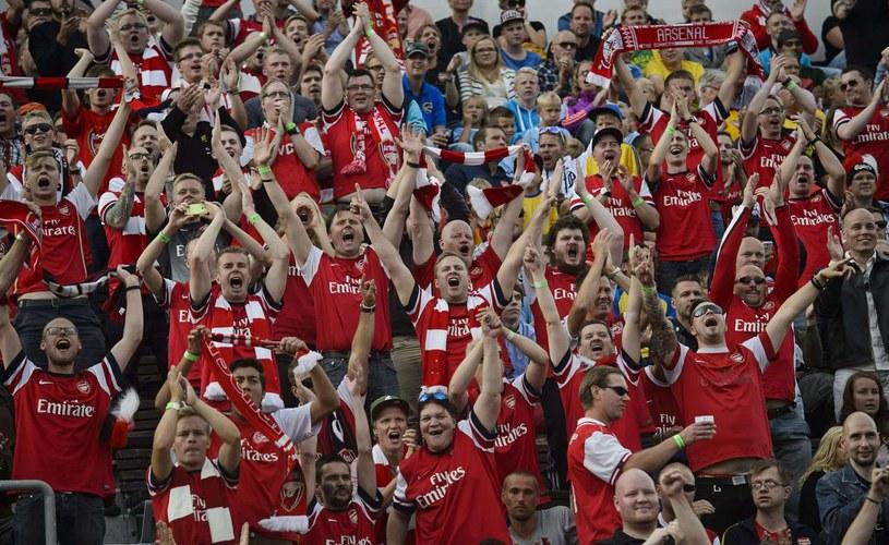 Kibice Arsenalu Londyn /AFP