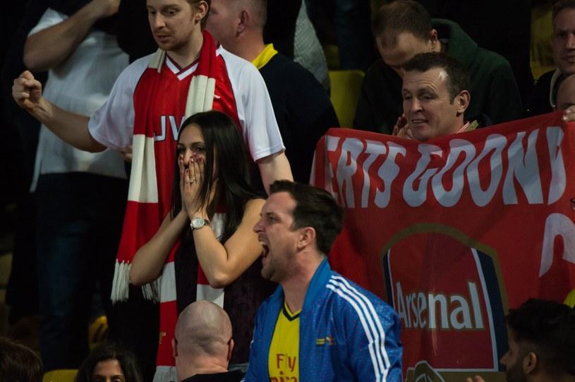Kibice Arsenalu znów przeżyli rozczarowanie /AFP