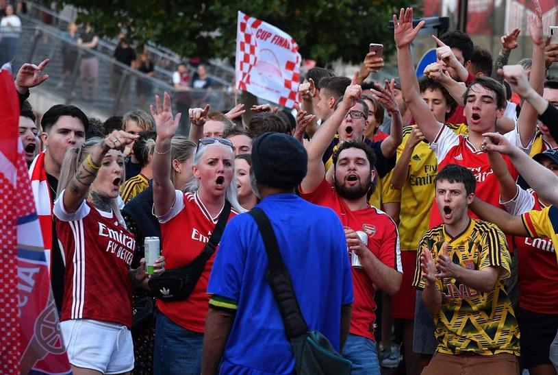Kibice Arsenalu /AFP