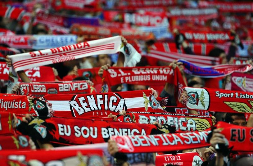 Kibice Benfiki Lizbona /PAUL ELLIS /AFP