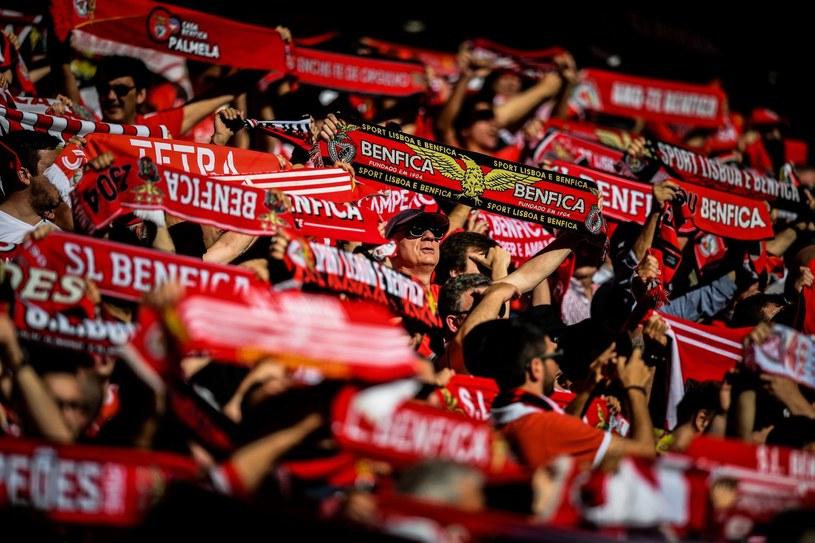 Kibice Benfiki Lizbona /AFP