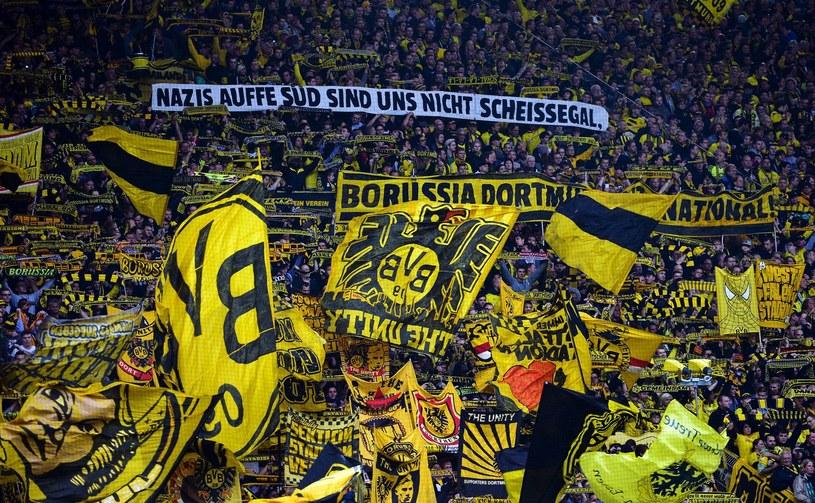 Kibice Borussii Dortmund /AFP