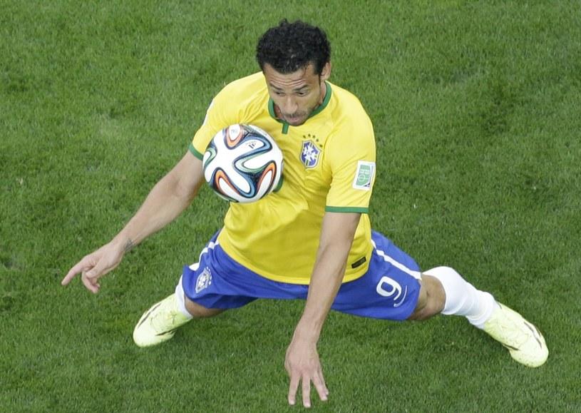 Kibice Brazylii wyładowywali swą wściekłość głównie na Fredzie /AFP