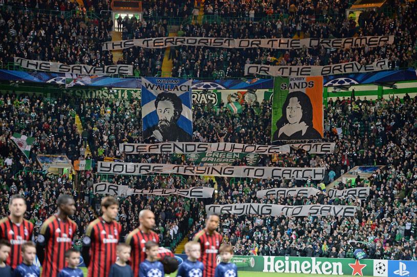 Kibice Celticu na meczu z AC Milan /Jeff J Mitchell /Getty Images