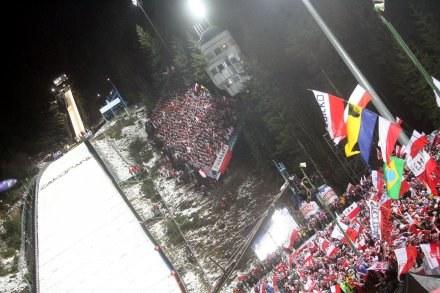 Kibice chcą zwrotu pieniędzy, bo nie kupili biletów na kwalifikacje - Fot. Jarosław Arczewski /Agencja Przegląd Sportowy