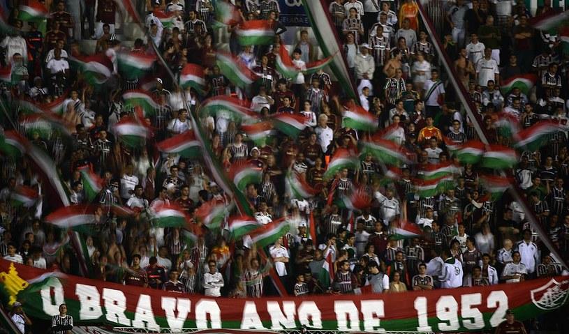 Kibice Fluminense mogą się cieszyć z utrzymania w lidze /AFP