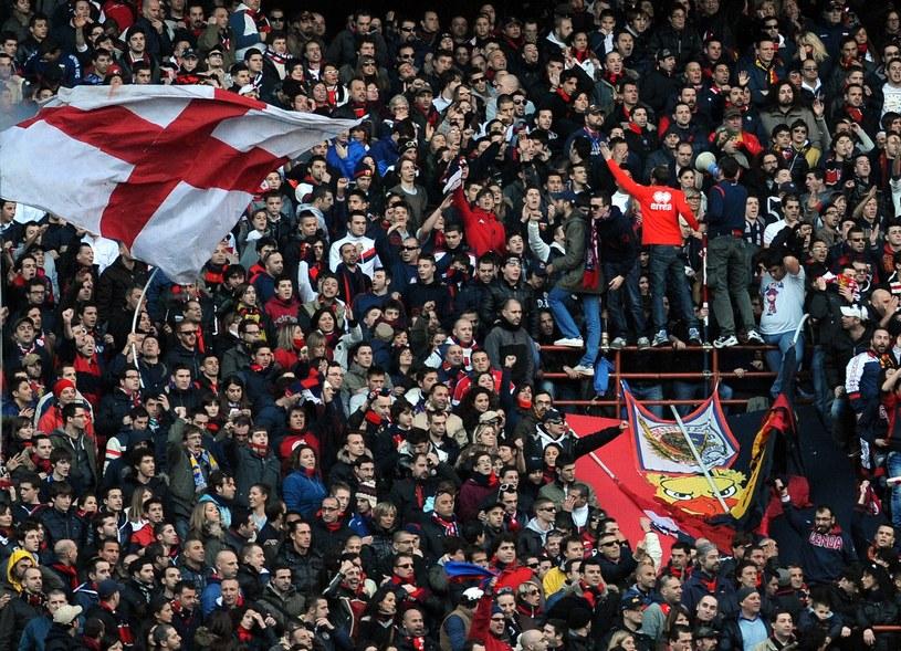 Kibice Genoa CFC /AFP