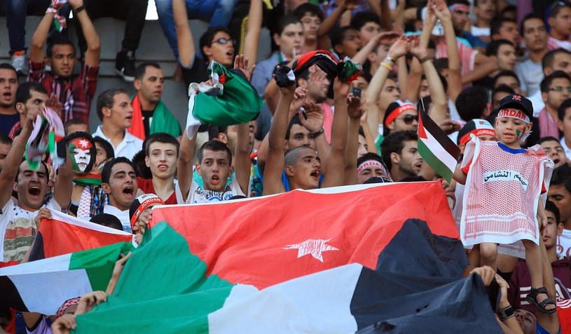 Kibice Jordanii liczą na pierwszy w historii awans na mundial /PAP/EPA