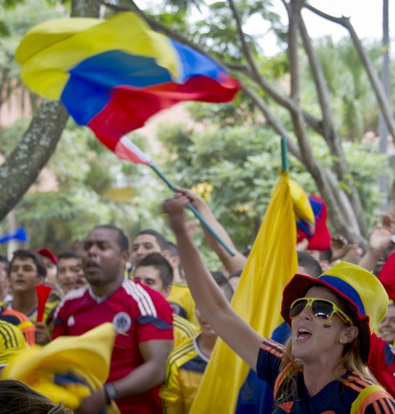 Kibice Kolumbii /AFP
