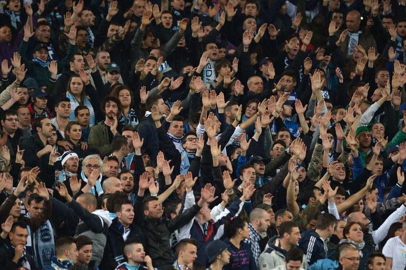Kibice Lazio Rzym znani są z rasistowskich zachowań /AFP