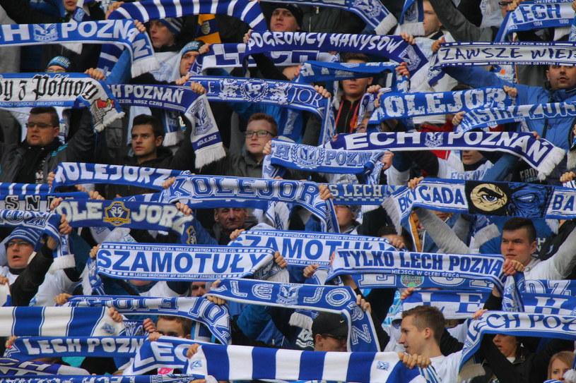 Kibice Lecha Poznań /GRZEGORZ DEMBINSKI /East News