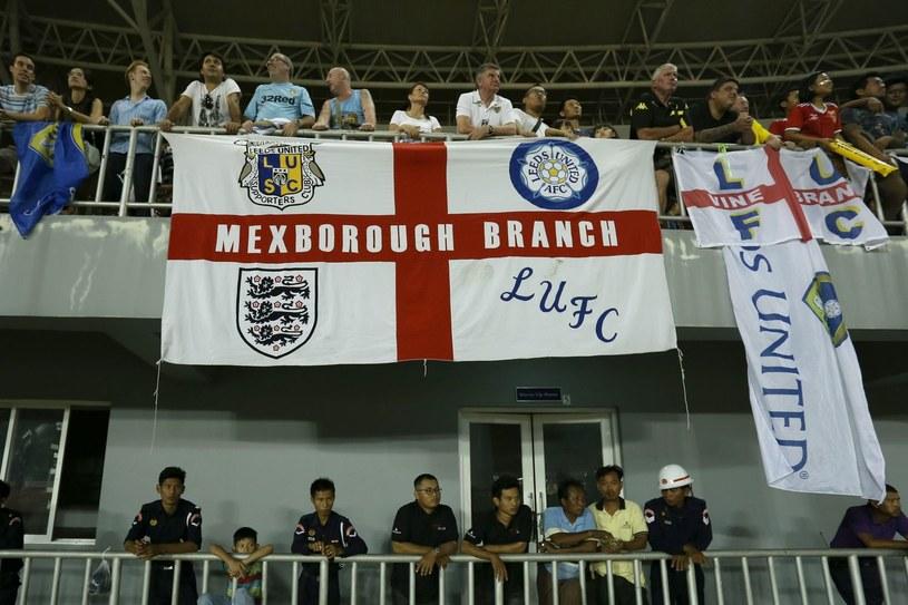 Kibice Leeds United podczas towarzyskiego meczu z Birmą /AFP