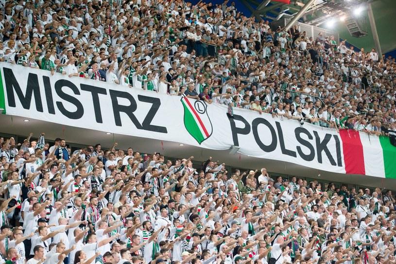 Kibice Legii Warszawa /Andrzej Iwańczuk/Reporter /East News
