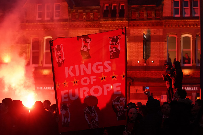 Kibice Liverpool-u przed meczem /AP/EAST NEWS /East News
