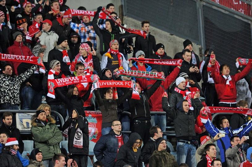 Kibice Liverpoolu w Udine mieli powody do radości. /AFP