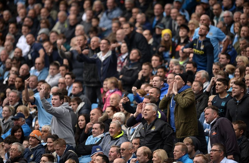 Kibice Manchesteru City /AFP