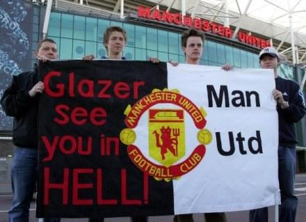 Kibice Manchesteru United nie darzą sympatią właścicieli klubu /AFP