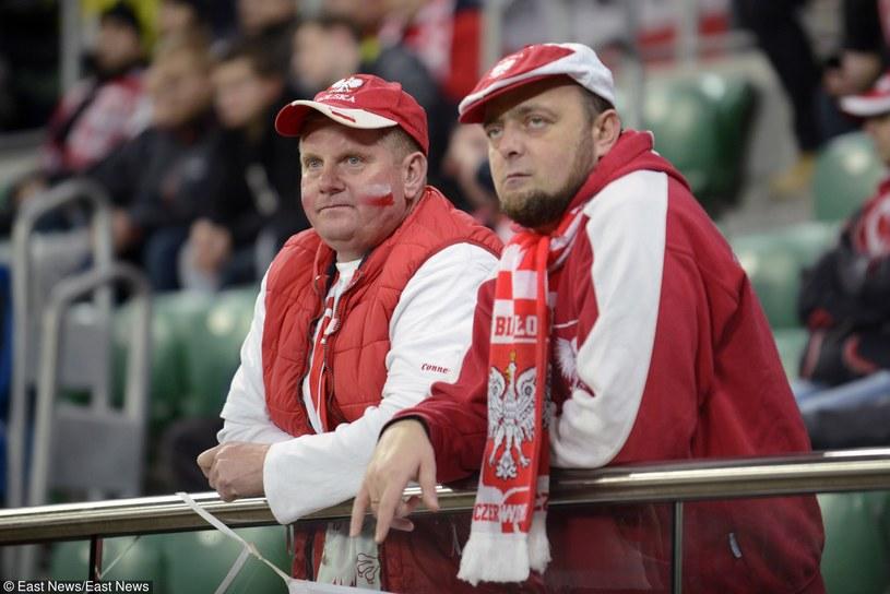 Kibice na meczu Polska - Czechy we Wrocławiu /Natalia Dobryszycka /East News