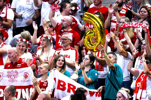 Kibice na meczu Polska-Rosja /CEV.eu /