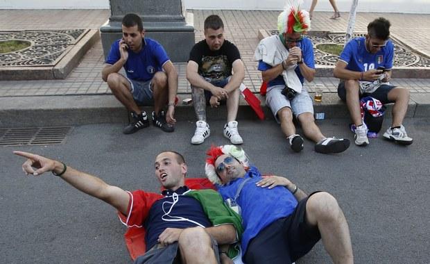 Kibice opanowali ulice Kijowa przed wielkim finałem