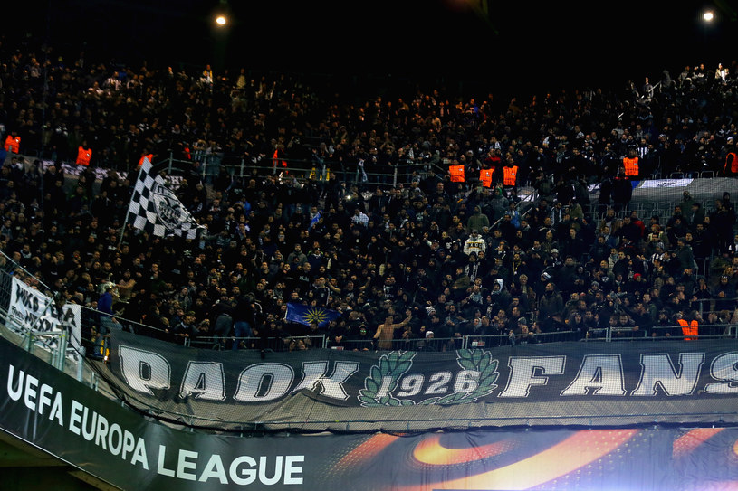 Kibice PAOK-u Saloniki /Christof Koepsel /Getty Images