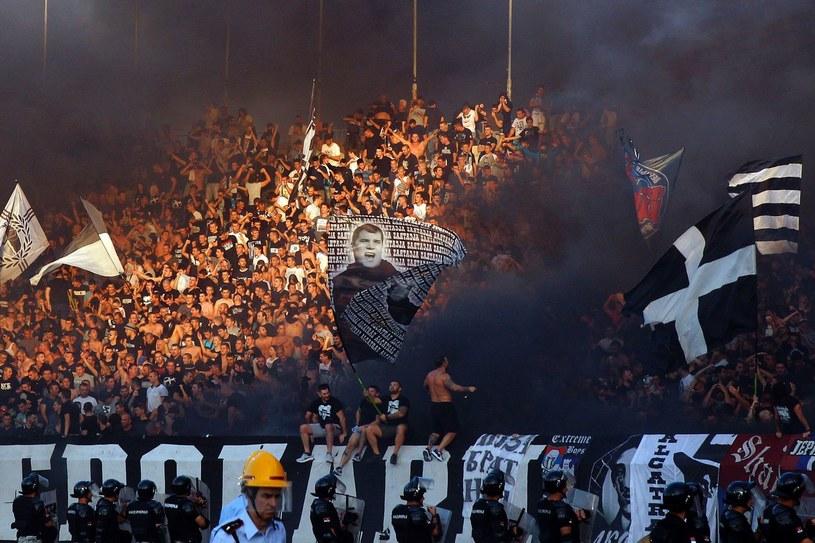 Kibice Partizana Belgrad /AFP