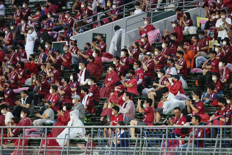Kibice podczas meczu ligi japońskiej /AFP