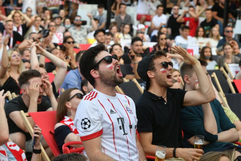 Kibice podczas meczu Polska-Szwecja, zdj. ilustracyjne /Artur Barbarowski /East News