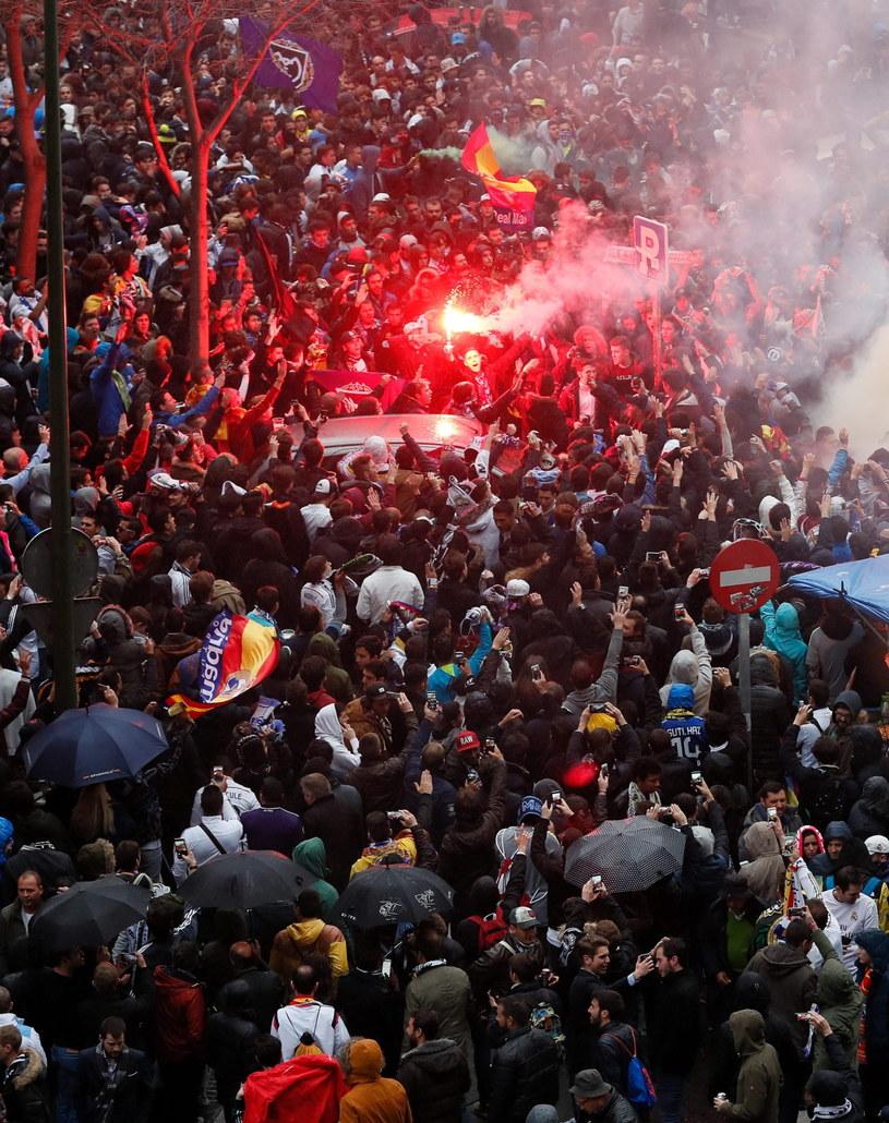 Kibice Realu Madryt /PAP/EPA