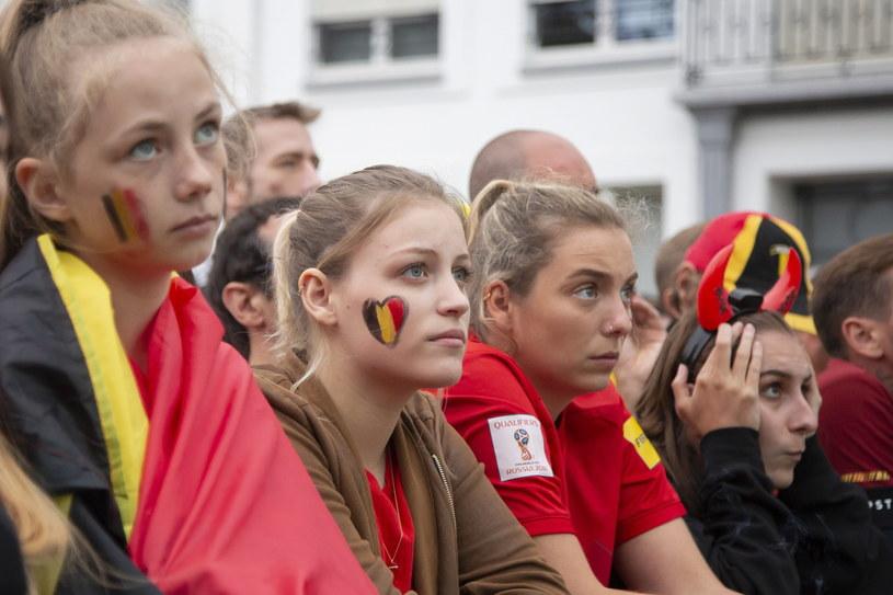Kibice reprezentacji Belgii /PAP/EPA