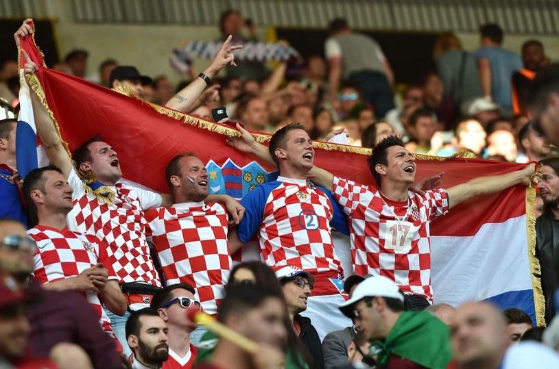 Kibice reprezentacji Chorwacji /AFP