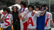 Kibice reprezentacji Czech czekają na wieczorny mecz Mistrzostw Europy w piłce nożnej