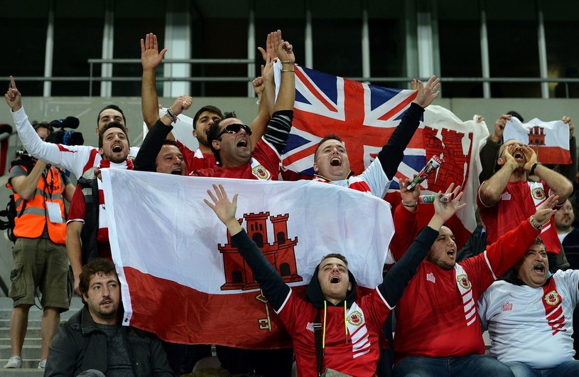 Kibice reprezentacji Gibraltaru /AFP