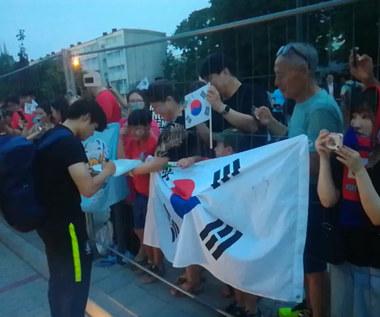 Kibice reprezentacji Korei Południowej i Ukrainy po finale MŚ. Wideo