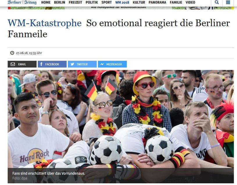 97b597401 Kibice reprezentacji Niemiec/ Fot.: