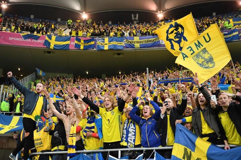 Kibice reprezentacji Szwecji /AFP