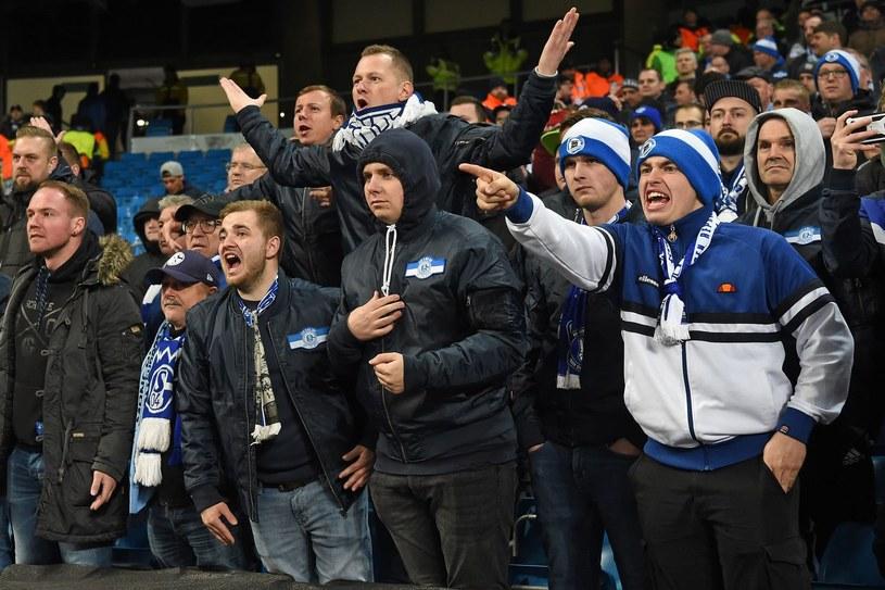 Kibice Schalke 04 /AFP